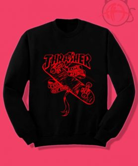 Thrasher Love Affair Crewneck Sweatshirt