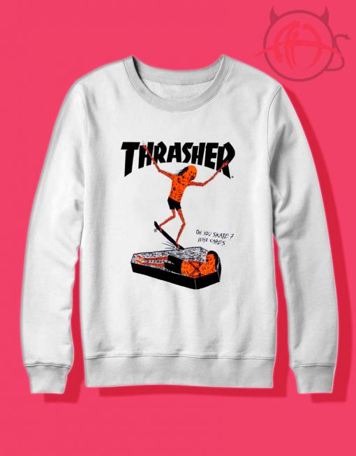 Thrasher Neck Face 1 510x653 Thrasher Neck Face Crewneck Sweatshirt