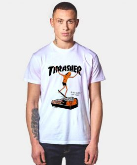 Thrasher Neck Face T Shirt