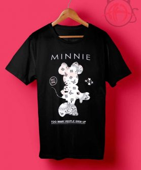 Minnie Too Many People Drow Up T Shirt