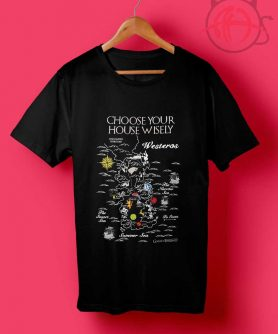 Game of Thrones Map T Shirt