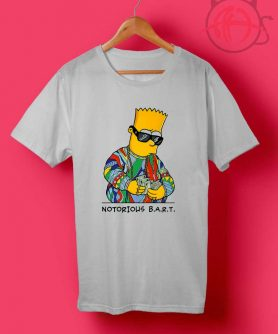 Notorious Bart Simpson T Shirts