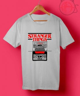 Stranger Things Audiotape T Shirts