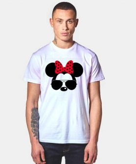 Minnie Mouse Bow Sunglasses T Shirt