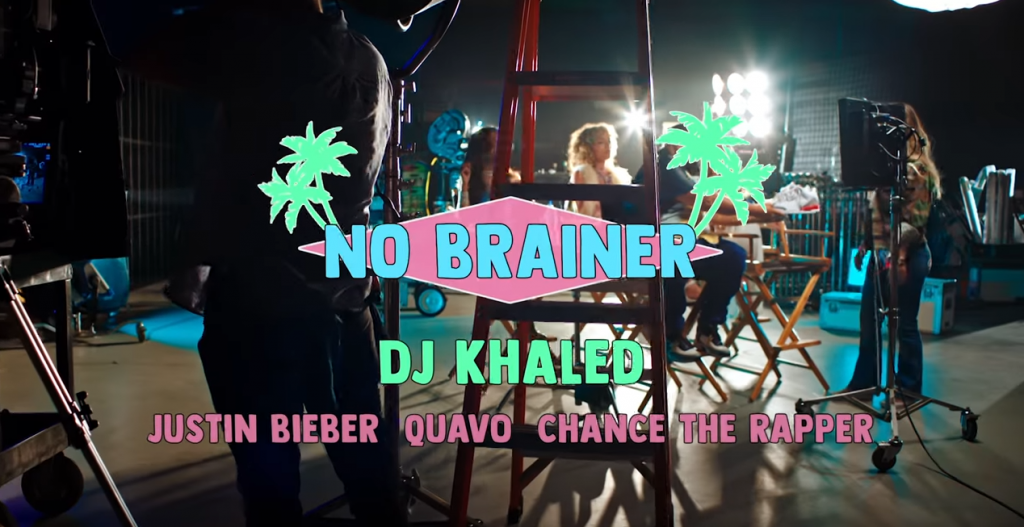 "DJ Khaled ""No Brainer"" [ft. Justin Bieber. Chance the Rapper & Quavo]"