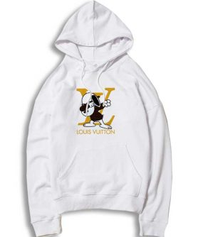 Snoopy Dabbing Stay Stylish LV Hoodie