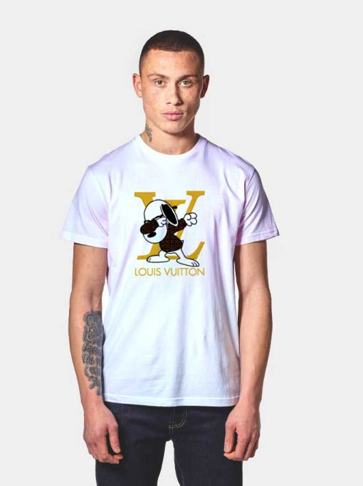 Snoopy Dabbing Stay Stylish LV T Shirt