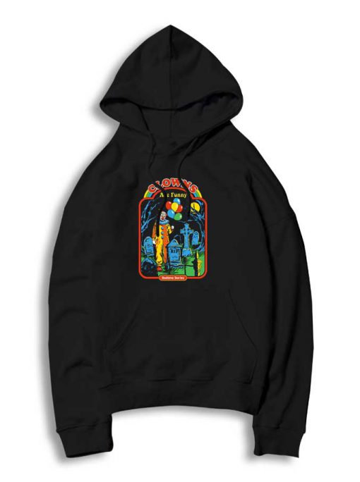 Clowns Are Funny Halloween Hoodie 510x684 Clowns Are Funny Halloween Hoodie