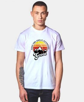 Great Outdoors Vintage T Shirt