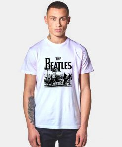 The Beatles Bicycle T Shirt