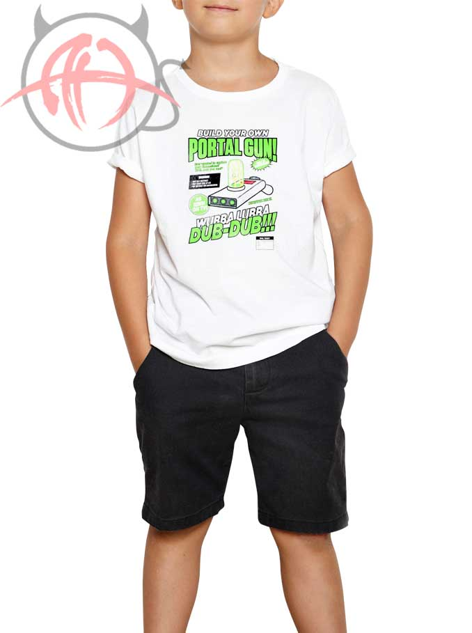 b9b3c730 Build Your Own Portal Gun Youth T Shirt - Outfits Youth Style