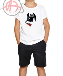 Toothless Night Fury Youth T Shirt