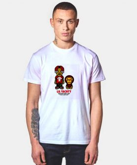 A Bathing Ape x Lil Yachty T Shirt