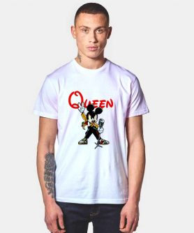 Mickey Freddie Mercury Queen T Shirt