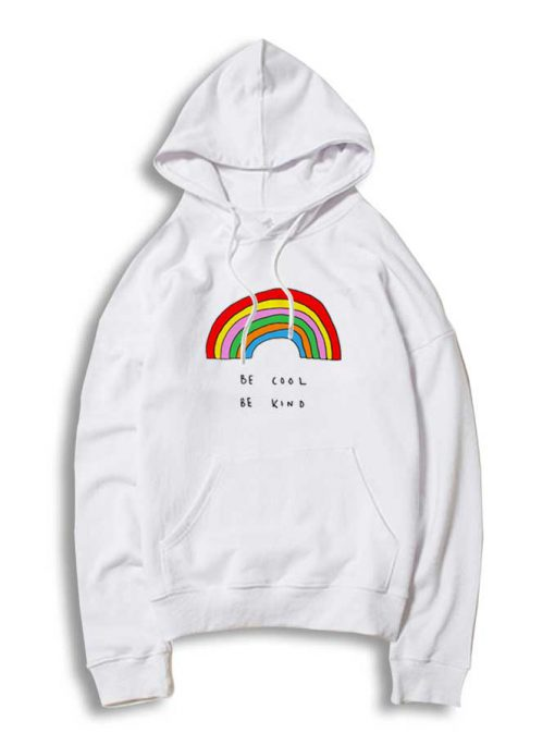 Be Cool Be Kind Rainbow Hoodie 510x684 Be Cool Be Kind Rainbow Hoodie