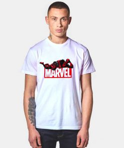 Deadpool Marvel Logo T Shirt