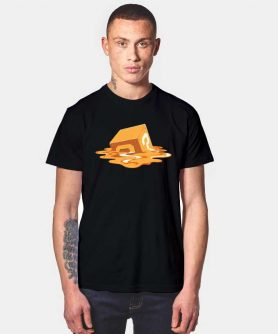 Melted Mysterious Cube T Shirt