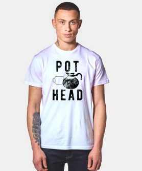 Pot Coffee Head T Shirt