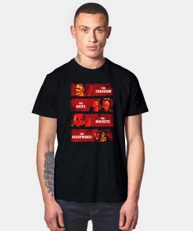 The Chainsaw The Knife Slasher T Shirt