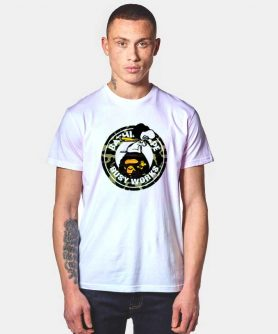 A Bathing Ape x Snoopy Bape T Shirt