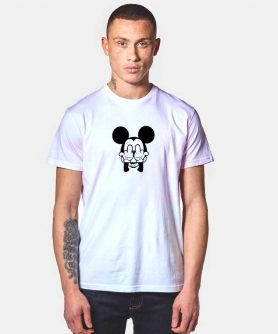 Mickey Mouse Anonymous Funny T Shirt
