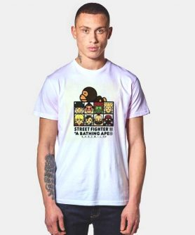 Bape X Street Fighter 2 Collaboration T Shirt