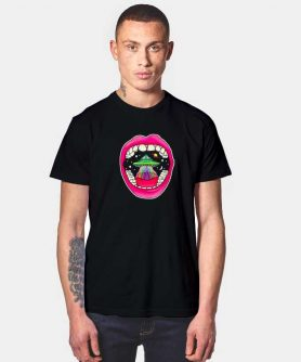 Aesthetic Smoke Trippy Space Vintage T Shirt