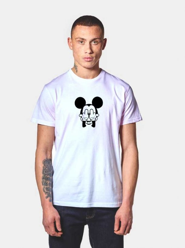 Mickey Mouse Anonymous Funny 611x819 Mickey Mouse Anonymous Funny T Shirt
