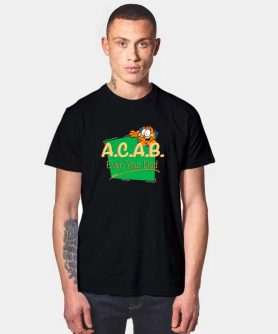 Vintage Inspired ACAB Garfield T Shirt