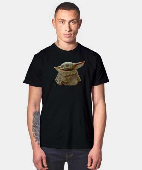 Star Wars The Mandalorian Tube Yoda T Shirt