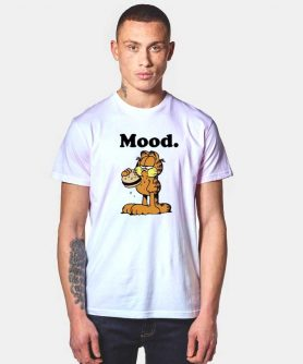 Fat Garfield Mood Vintage T Shirt