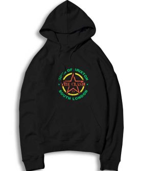 Guns of Brixton Logo The Clash Hoodie