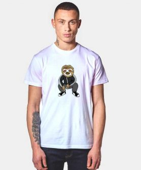 Cute Sloth Squatting Like A Slav T Shirt