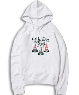 Valentines Day Gnome For Light Hoodie